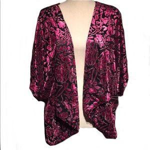 NY Collection Cherry Blossom Kimono Style